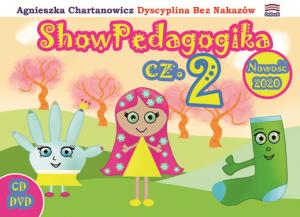 ONLINE z płytami DVD i CD – Stwórz w grupie 7 pedagogicznych nawyków, czyli ShowPedagogika cz.2 – 7 Tańców Wychowańców i 7 Animowanych Bajek Pedagogicznych